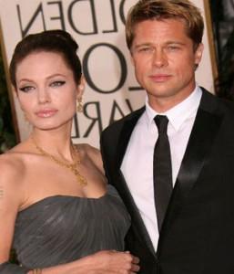 Свадьба Анджелины и Бреда