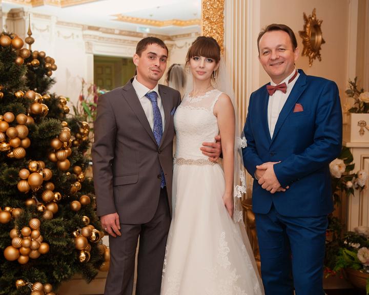 ведущий на свадьбу в декабре